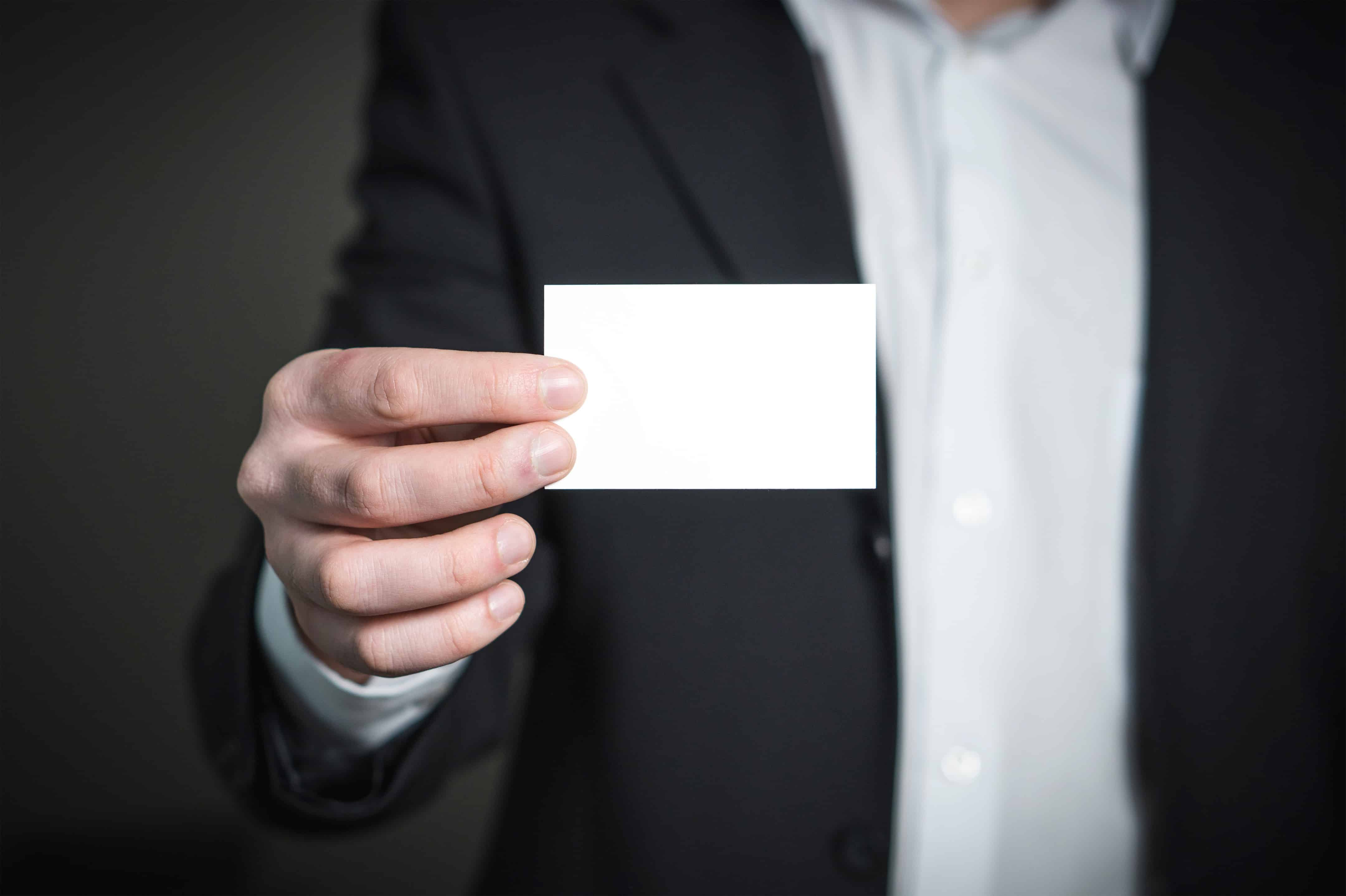 What to include on your business card