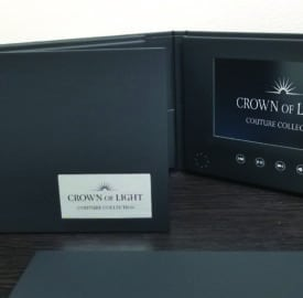 Video brochure marketing