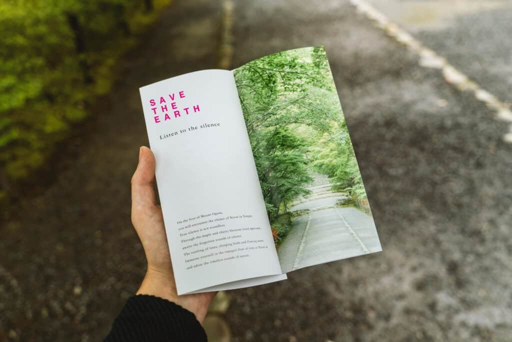 Environmental photography brochure