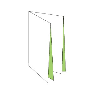 French fold brochures offer a large number of panels