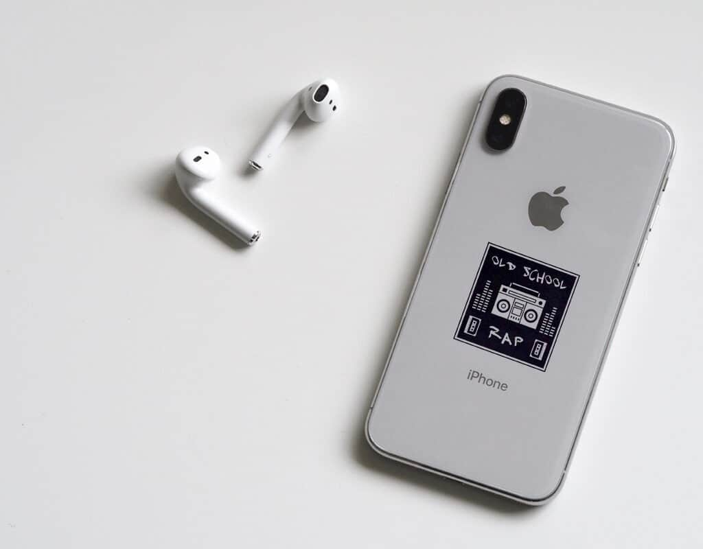 Square sticker printing for phone