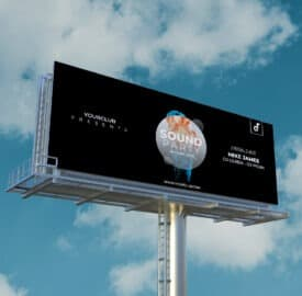 Billboards are an example of large format digital printing.