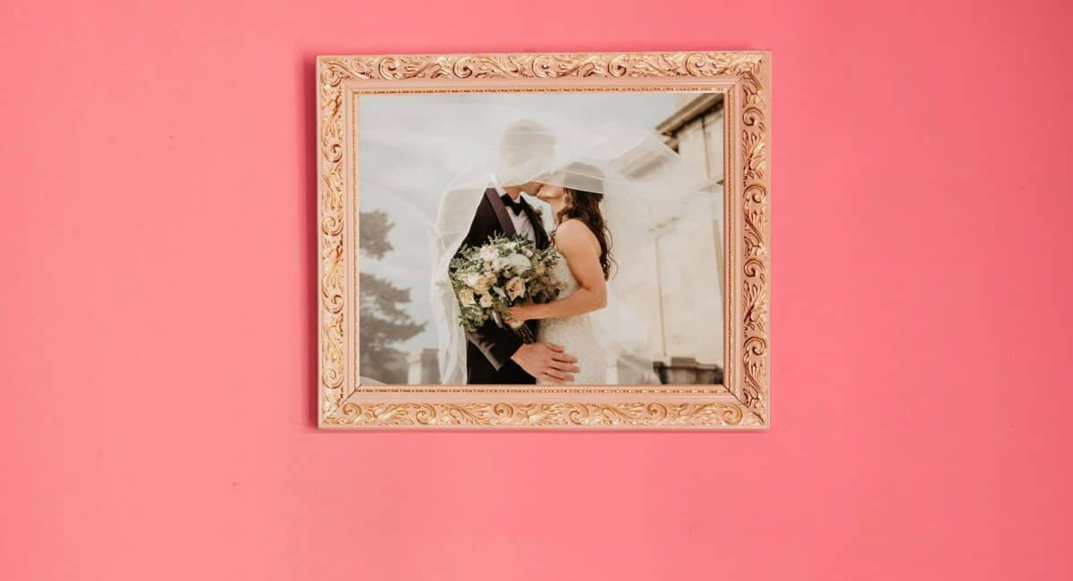 wedding photo print