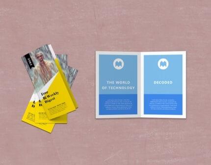 Custom Brochure Design and Printing