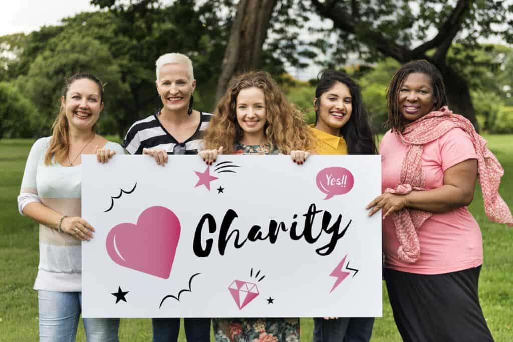 Fundraiser event for Breast Cancer Awareness