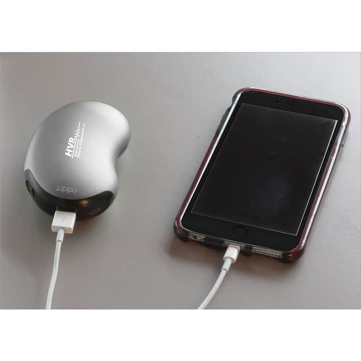 Branded portable heat warmer and charger