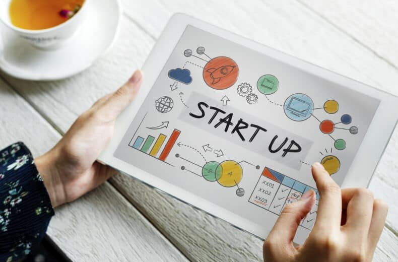 Start ups are built from the ground up