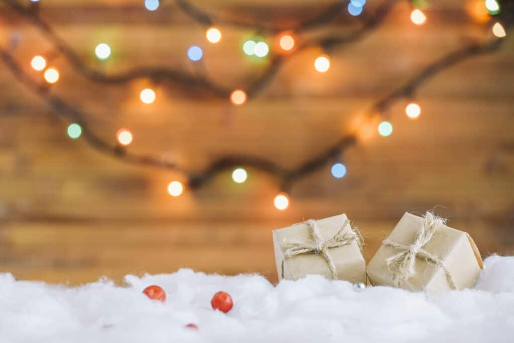 Lighting can affect how festive your store decorations are this holiday