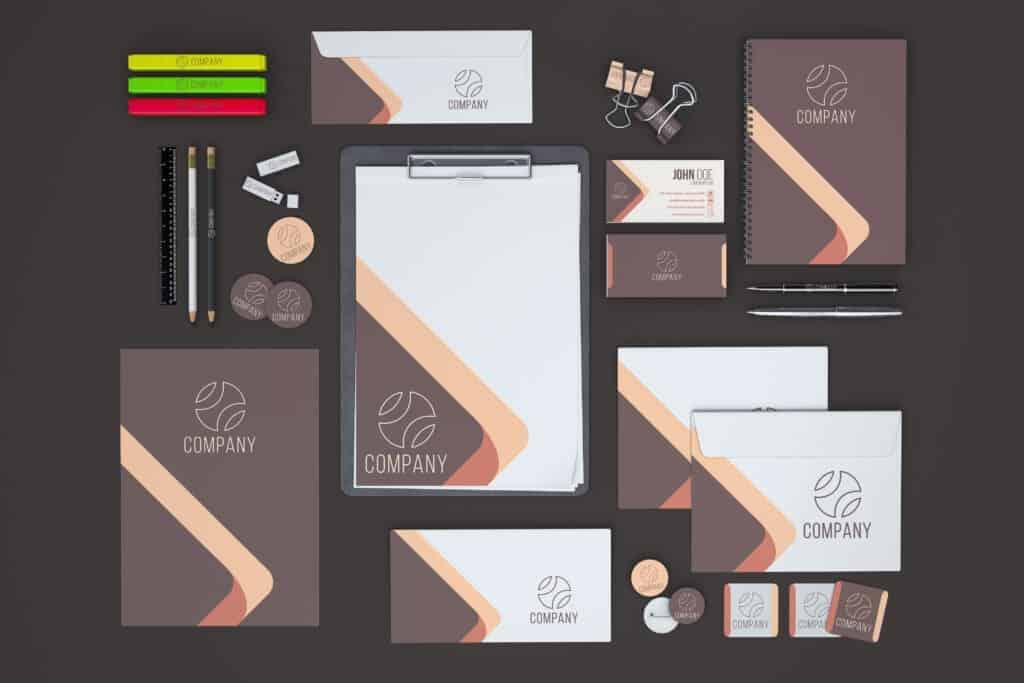 Branded marketing materials