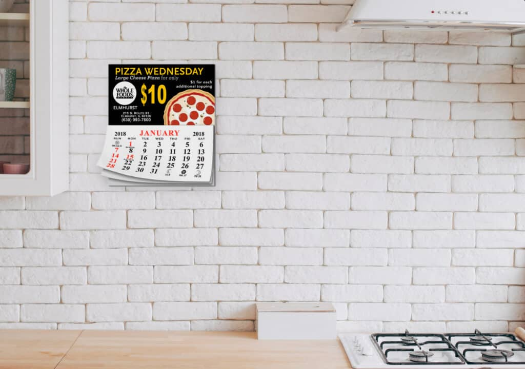 Promote your business with add-a-pad 12 month calendars