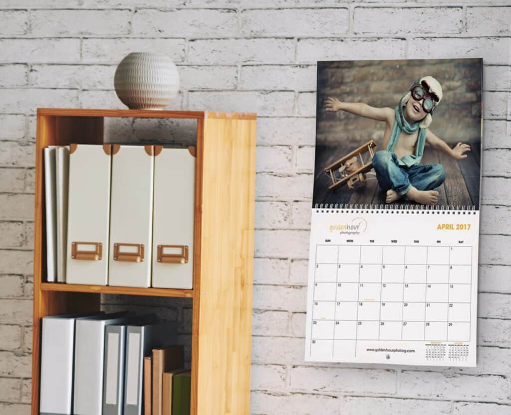Custom wall calendars are memorable for your customers