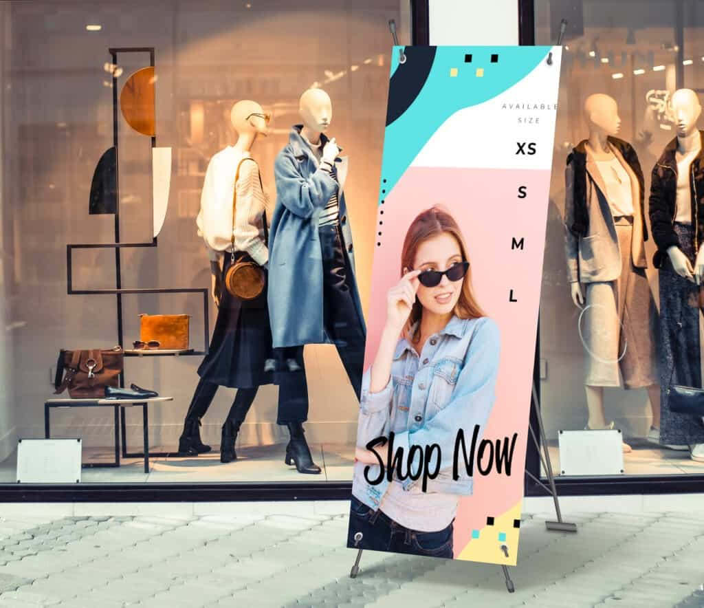 Vinyl banners are essential point-of-purchase displays for stores of any size