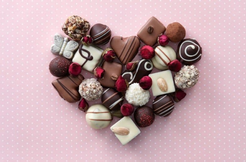 Valentine's day chocolate make a great gift choice